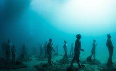 Museo Submarino convierte el Océano en una Galería de Arte