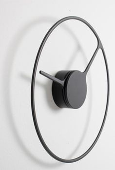 Time // clock by Jehs + Laub Minimalist clock