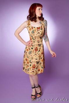 Rockabilly...tattoo dress...i want!