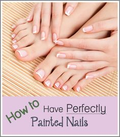 …without paying a fortune at the salon. This post is the result of my quest for the answer! Enjoy! Prep your nails by soaking, pushing back, and trimming the cuticles. Trim and file your nails, and remove any nail polish currently on them. Use a base coat to strengthen the nail and prevent staining. Not …