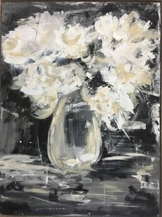 Image result for abstract hydrangea paintings