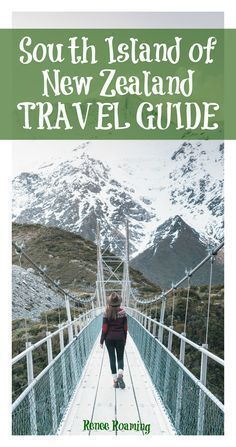 - TRAVEL GUIDE - You can't miss these EPIC destinations on the South Island of New Zealand. Read more for road trip, destination & travel advice. Renee Roaming - http://wwww.reneeroaming.com. Travel / Wanderlust / Dream Destination / Bucket List