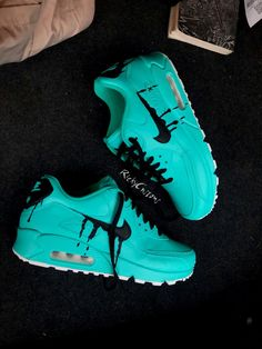 Browse all products in the Air Max category from RichyCustoms. Nike Air Shoes, Nike Shoes Cheap, Jordan Shoes Girls, Girls Shoes, Sneakers Fashion, Shoes Sneakers, Baskets, Creative Shoes, Fresh Shoes