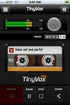 TinyVox App Record Your Voice Notes and Share Instantly For iOS, Android Review @Tiny Vox