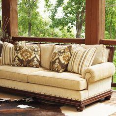 Southwest Decorating Design Sofa but still keepin' it classy