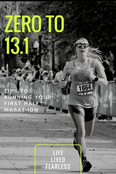 Half Marathon Training Guide – Life Lived Fearless – Famous Last Words Beginner Half Marathon Training, Half Marathon Tips, Half Marathon Training Schedule, Running Half Marathons, Marathon Running, Half Marathon Motivation, Ultra Marathon, Running Motivation, Fitness Motivation