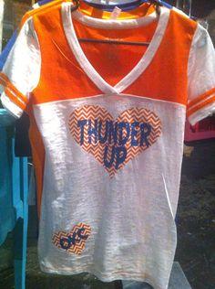 OKC Thunder Shirt thunder basketball thunder up on Etsy, $28.00