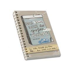 Kleine Buch der großen Momente für Erinnerungen A6 von EINE DER GUTEN - Bücher für ein tolleres Leben auf DaWanda.com