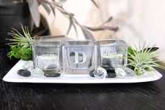 DIY MERCURY GLASS VOTIVES  on @DarbySmart Darby Smart, Martha Stewart Crafts, Mercury Glass, Home And Garden, Jar, Decor Ideas, Inspiration, Biblical Inspiration, Glass