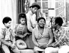 Good Times was a Norman Lear-produced sitcom that ran on CBS from The show was a spinoff of Lear's earlier comedy, Maude (Itself a spinoff of. 1970s Tv Shows, Old Tv Shows, Good Times Tv Show, Ralph Carter, Norman Lear, Black Tv Shows, All In The Family, Black Families, Classic Tv