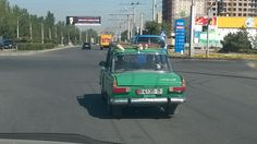Old Russian cars power