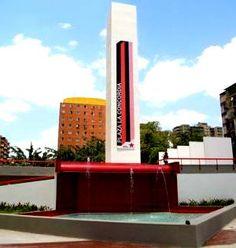 Obelisco ,Plaza La Concordia, Caracas. Venezuela