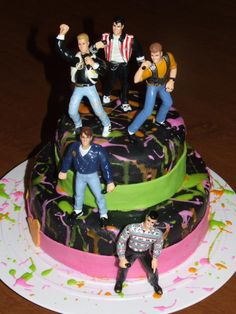 NKOTB birthday cake would have died for this around 1991