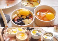Яйца-кокот. Нетривиальный, несложный и быстрый (15-20 мин) завтрак.