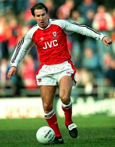 Paul Merson of Arsenal in 1990.