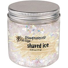 @Overstock - This generous jar of Shaved Ice is glitter taken to the max. The large, irregular chunks of bling will spice up any project with the snowy look of a winter day.http://www.overstock.com/Crafts-Sewing/Stampendous-Shaved-Ice-Glitter-4-Ounces/6541377/product.html?CID=214117 $5.69