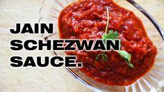 jain schezwan sauce / schezwan sauce Jain Recipes, Indian Food Recipes, Jain Food Recipe, Ethnic Recipes, Schezwan Chutney, Schezwan Sauce, Best Lunch Recipes, Vegetarian Recipes, Breakfast Recipes