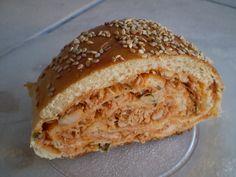 Receita de Pão recheado da Tânia. Enviada por Tania Cione e demora apenas 100 minutos.