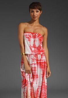 Gypsy 05 red maxi dress