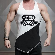 4ce922d4ce408f Men s New Spring Summer Tank Top casual Slim Fit T-Shirt