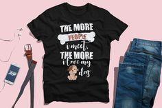 I Like Dogs, Dog Lover Unisex T-Shirt I Like Dogs, Shirt Price, Primary Colors, Dog Lovers, Unisex, Trending Outfits, Mens Tops, T Shirt, Cotton