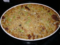 Southern Cornbread Dressing for Thanksgiving Southern Living Dressing Recipe, Patsy Recipe, Veggie Recipes, Great Recipes, Patty And Bun, Bread Appetizers, Cornbread Dressing, Christmas Dishes, Chicken And Dumplings