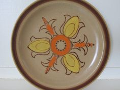 Mixed Lot Vintage 1970's80's Stoneware Dishes by Bingville