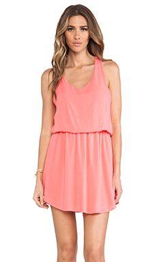 Splendid Tank Dress in Coral Pink | REVOLVE
