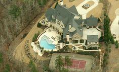 15,000 Square Foot Lakefront Mansion In Milton, GA