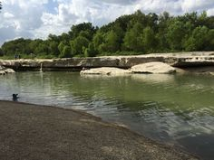 Relaxing watering hole at McKinney Falls State Park, Austin, TX