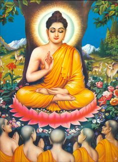 Buddhism is extremely fast growing and estimates put its adherents at somewhere around one billion. Even though Buddhism is so popular, many in the western Mantra, Neem Karoli Baba, Buddha Tattoos, Indian Goddess, Buddha Painting, Meditation Art, Hindu Deities, World Religions, Gods And Goddesses