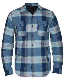 • Regular Fit Long Sleeve   • 100% Cotton Flannel Twill with Sherpa Li...