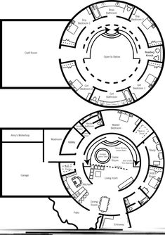 dome Floor Plans | Floor plan of our dream home — a Monolithic Dome Home