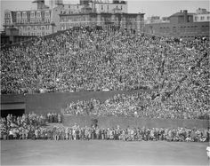 Opening Day at Fenway Park, 1934 Baseball Park, Red Sox Baseball, Baseball Field, Boston Sports, Boston Red Sox, Dorchester Massachusetts, Baseball Photography, Boston Skyline, Red Sox Nation
