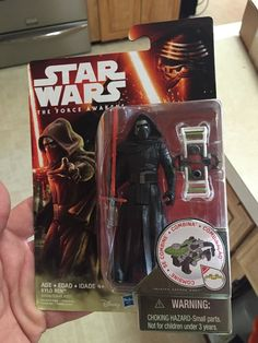 The Kylo Ren action figure for Star Wars: The Force Awakens