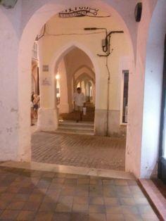 Ses Voltes. Ciutadella, Menorca
