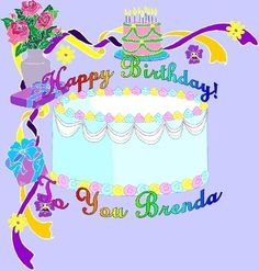 Happy Birthday Brenda http://www.happybirthdaywishesonline.com/
