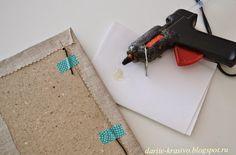 Секреты аккуратного блокнота. Часть 4: делаем застежку-резинку.   Sovushka Slavia