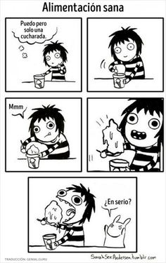 Image about funny in Sarah Andersen by Alien on We Heart It Sarah Anderson Comics, Sara Anderson, Cute Comics, Funny Comics, Sarah See Andersen, Sarah's Scribbles, The Awkward Yeti, Haha, 4 Panel Life