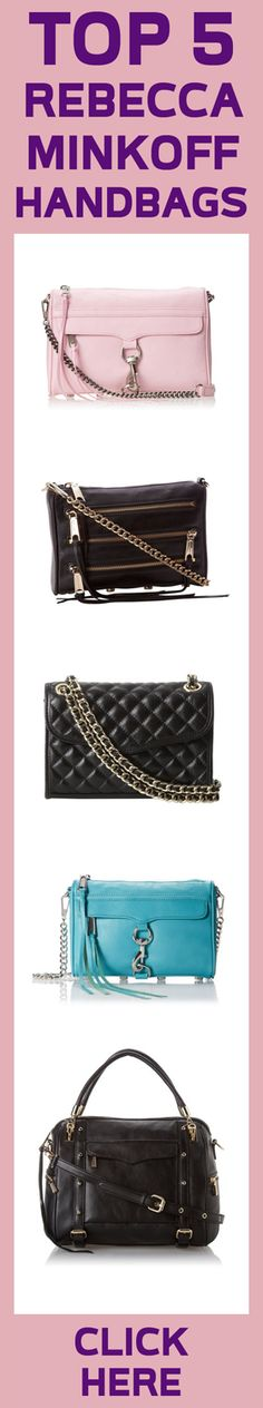 My fave is the black an also the pink one Rebecca Minkoff Handbags, Fashion Dictionary, Glam Dresses, Cool Eyes, 21st Century, Heavenly, Purses And Bags, Totes, Wallets