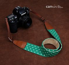 SLR Camera straps7179, Denim leather camera straps Canon/ Nikon /Sony camera straps on Etsy, $26.00