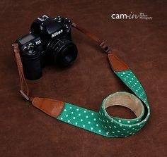 SLR Camera straps7179, Denim leather camera straps Canon/ Nikon /Sony camera straps on Etsy, $26.00