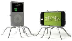 Suporte Aranha para celular, tablet e câmera