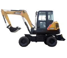 Sy65w 6 Ton Wheeled Excavator Excavator For Sale Excavator Hydraulic