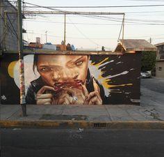 Rodriguez Drako in Mexico City, Mexico, 2017 Graffiti, Street Art, Art Assignments, Outsider Art, Outdoor Art, Artist Names, Urban Art, All Art, Drake
