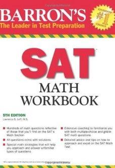 Barron's SAT Math Workbook, 5th Edition