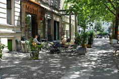 Deutschland, Berlin - Prenzlauer Berg.  (All Rights Reserved).