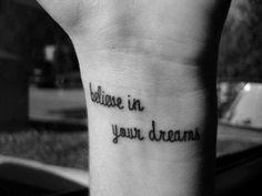 always believe...