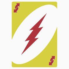 Reverse Flash Uno! - Redbubble T-Shirt  #TheFlash #Flash #BarryAllen #WallyWest #Zoom #ReverseFlash #Uno #CardGames #UnoCard #Speedster #CW #MetaHuman