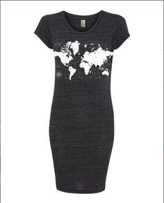 WORLD MAP Dress